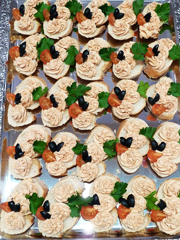 Cateringservice - Canapes